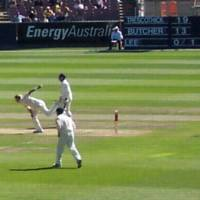 Brett Lee in Action at the MCG...