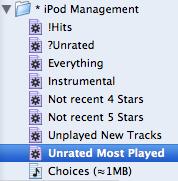 list of playlists